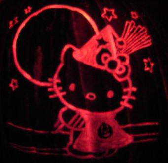 Hello Kitty Witch [orange foam] (2010)
