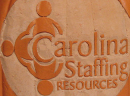 Carolina Staffing Resources [orange foam UNLIT] (2012)