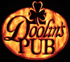 Doolin's Pub [orange foam] (2012)