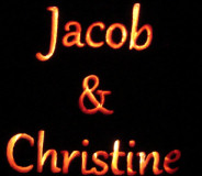 Jacob & Christine [orange foam] (2012)
