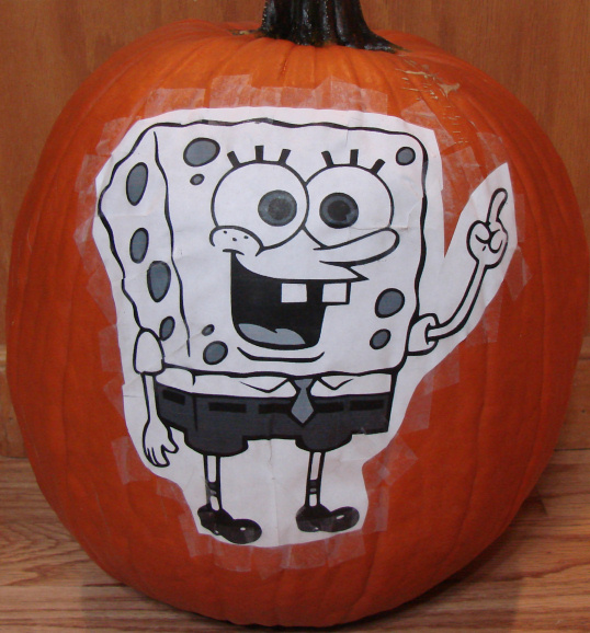 SpongeBob Square Pants 2012 Pattern Attached